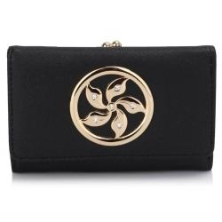 Peňaženka malá s brošňou Blink, čierna 16858