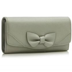 Peňaženka dámska Mašľa, sivá 17066