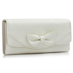 Peňaženka dámska Mašľa, biela 17068