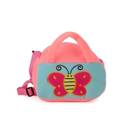 Dětská taška motýl, růžová 17238