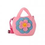 Detská taška kvietok, ružová 17245