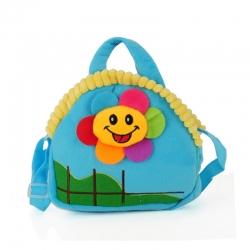 Dětská taška sluníčko, modrá 17234