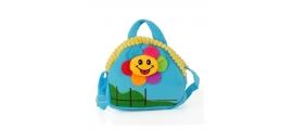 Detská taška slniečko, modrá 17234