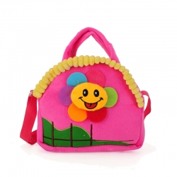 Dětská taška sluníčko, fuchsia 17232