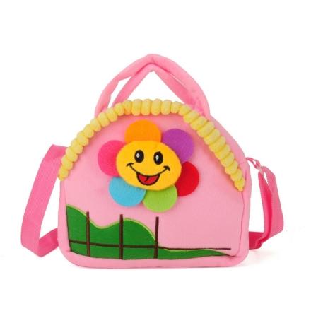 Dětská taška sluníčko, růžová 17233