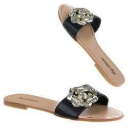 Sandále s kamienkami Darky, čierne 17681