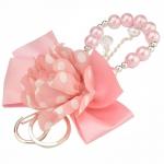 Prívesok na kabelku, ružový 11802