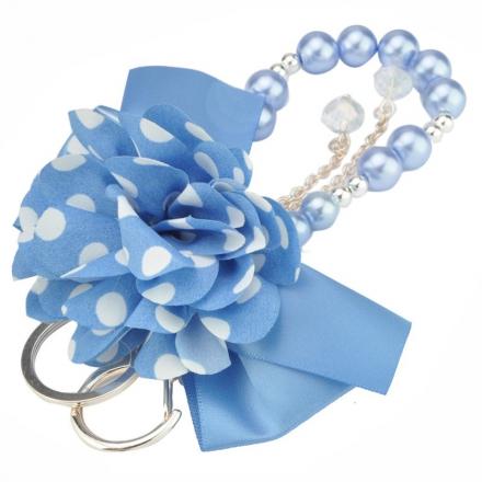 Prívesok na kabelku, modrý 11801