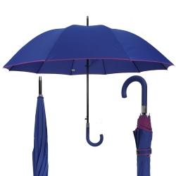 Deštník dámský Line, modrý 18113