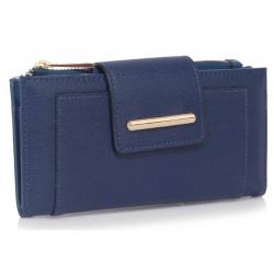Peňaženka s prackou Laky, modrá 18157