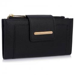 Peňaženka s prackou Laky, čierna 18161
