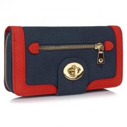 Peňaženka dámska Lewa, modrá 18146