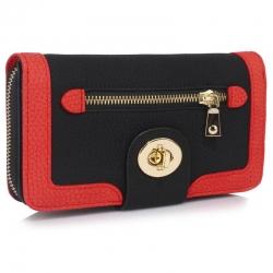 Peňaženka dámska Lewa, čierna 18148