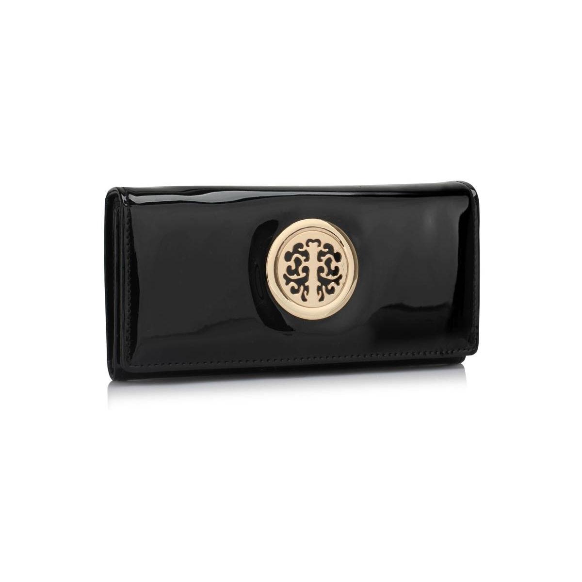 Peňaženka lakovaná s brošňou Onna 223cc2001a7
