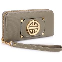 Peňaženka s ramienkom Mett, sivá 18495