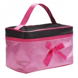 Kozmetická taštička KT10, pink 18617