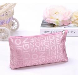 Kozmetická taštička KT13, pink 18647