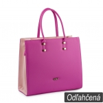 Kabelka Loki Tote LK00103 fuchsia-pink