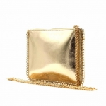 Kabelka listová BeLuxury Chia, zlatá 18745