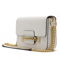 Kabelka crossbody BeLuxury Site, white 18933