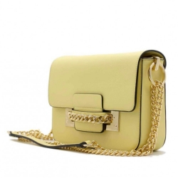 Kabelka crossbody BeLuxury Site, yellow 18935