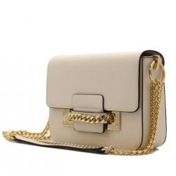 Kabelka crossbody BeLuxury Site, off white 18936