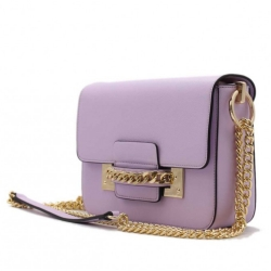 Kabelka crossbody BeLuxury Site, purple 18953