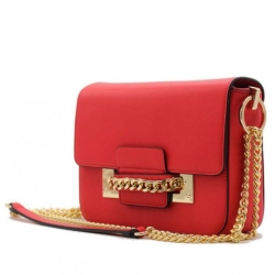 Kabelka crossbody BeLuxury Site, red 18974