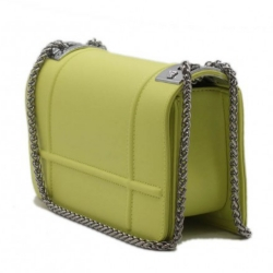 Kabelka crossbody BeLuxury Dite, yellow 19108