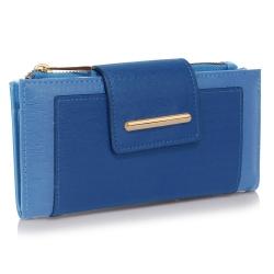 Peňaženka s prackou Laky, modrá 19435