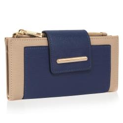 Peňaženka s prackou Laky, modro nude 19432