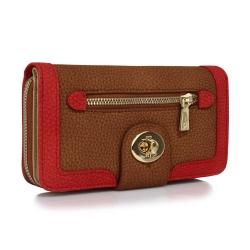 Peňaženka dámska Lewa, hnedá 19430