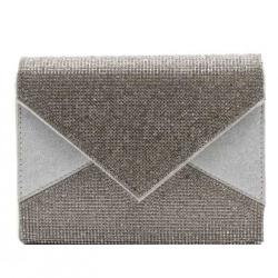 Kabelka listová BeLuxury Spar, silver 19525