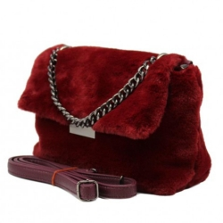 Kabelka crossbody BeLuxury Duvy, red 19617