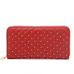 Peňaženka BeLuxury zipsová Nita, red 20170