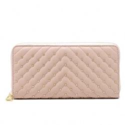Peňaženka BeLuxury zipsová Nita, pink 20171