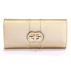 Peňaženka s otočným uzáverom Lenn, zlatá 20317