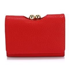 Peňaženka malá dámska Kiss, červená 20306