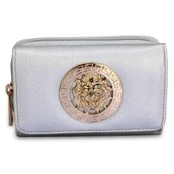 Peňaženka malá s brošňou Lion, strieborná 20279