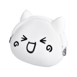 Dětská peněženka silikonová, kočička veselá 20384