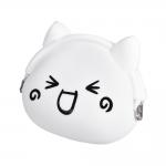 Detská peňaženka silikónová, mačička veselá 20384