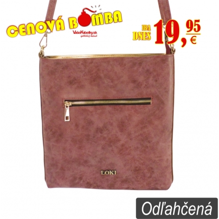 Kabelka Loki Crossbody LK00101 red-gold
