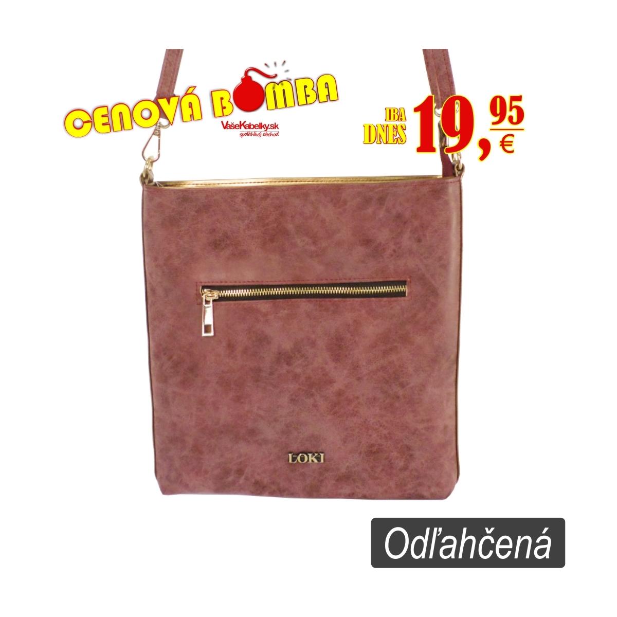 c0b99b4f78 Najlacnejšie odľahčené značkové kabelky LOKI