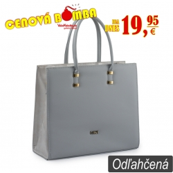 Kabelka Loki Tote LK00103 grey-silver