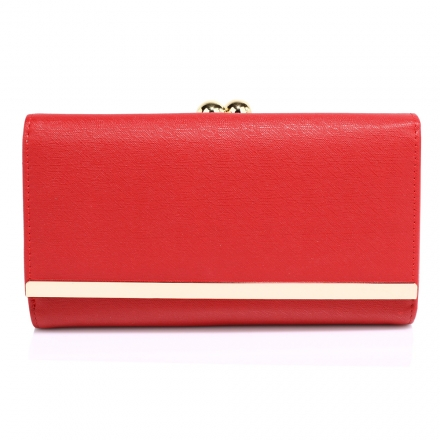 Peňaženka Limi, červená 16050