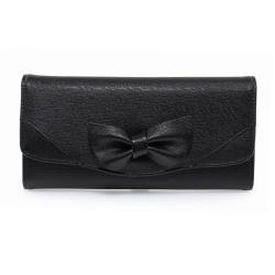 Peňaženka dámska Mašľa, čierna 17069