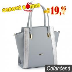 Kabelka Loki Tote LK00104 grey-silver
