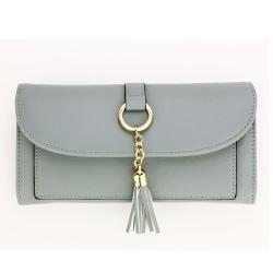 Peňaženka s príveskom Juky, modrá 20679