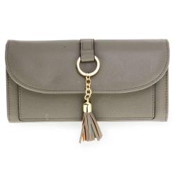 Peňaženka s príveskom Juky, sivá 20682