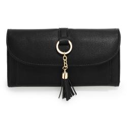 Peňaženka s príveskom Juky, čierna 20683